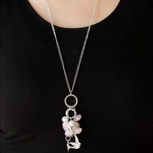 I Will Fly Pink necklace